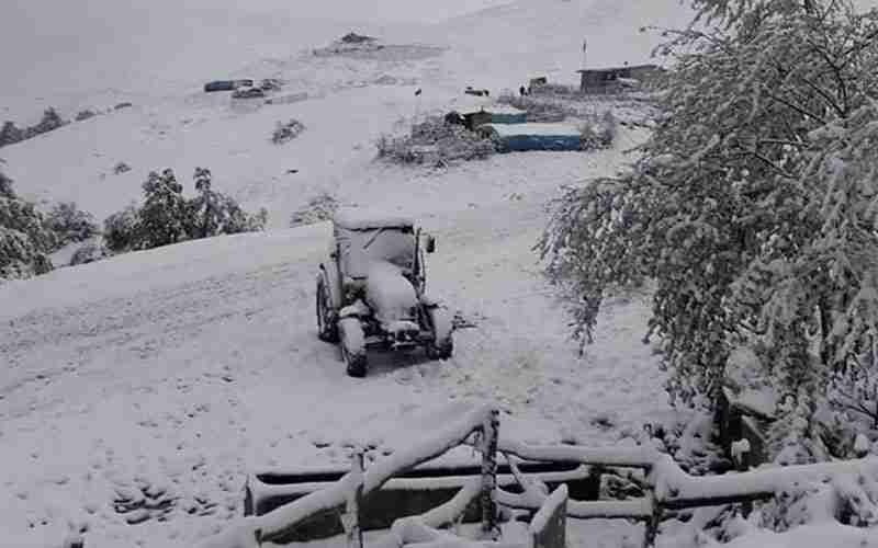 Ladik'te Kar.. 23 Mayıs 2020